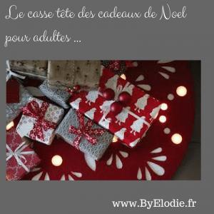 Le casse-tête des cadeaux de Noel pour adultes !