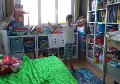 aider son enfant à ranger sa chambre