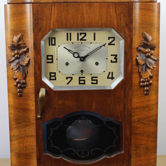 Stebra Wall Mounted Cased Clock – 1920's