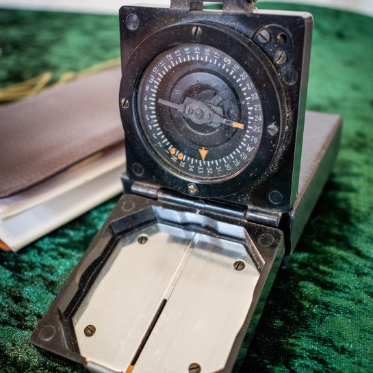 Original Bakelite 1950's Military Compass