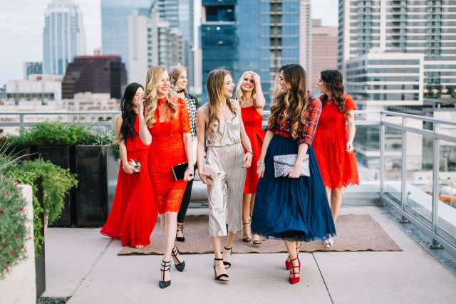 Austin Blogger Christmas Party Looks with By, Hilary Rose, The Autumn Girl, Hey Kaily Mae, It's Me Haylee, Janna Doan, Style Beacon, Kaley Margaret, The Trendy Tomboy, Dani Austin,