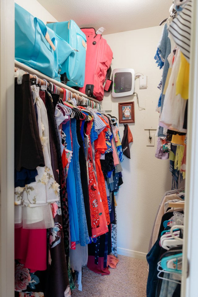Closet Organization with Granting Order to keep myself organized in the new year | New Year New Habits | By, Hilary Rose | Austin Blogger