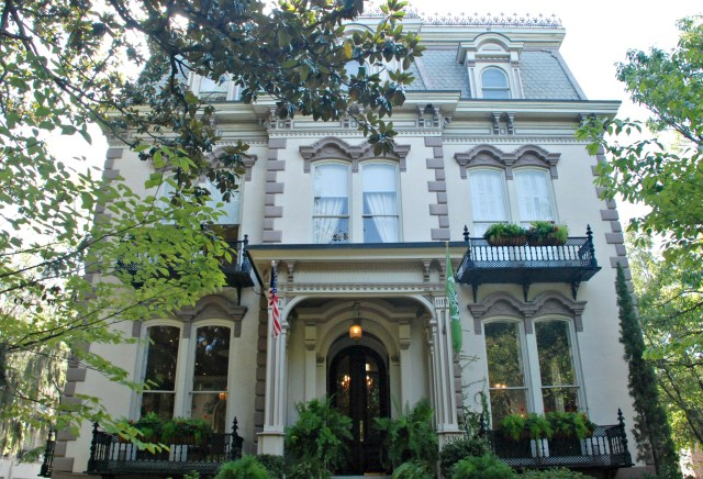 Where to stay in Savannah, Georgia, historic inn downtown hotel weekend getaway travel