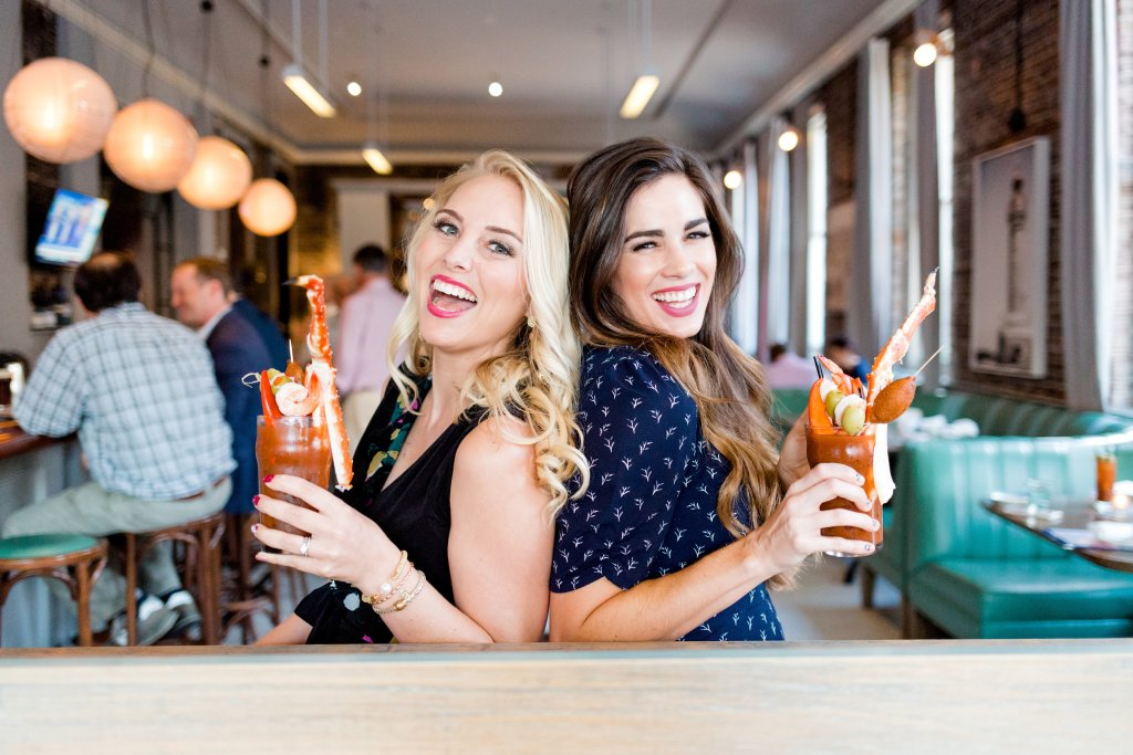 best seafood brunch charleston darling oyster bar showpo dress blogger bloody marys oysters cocktails sunday fall style