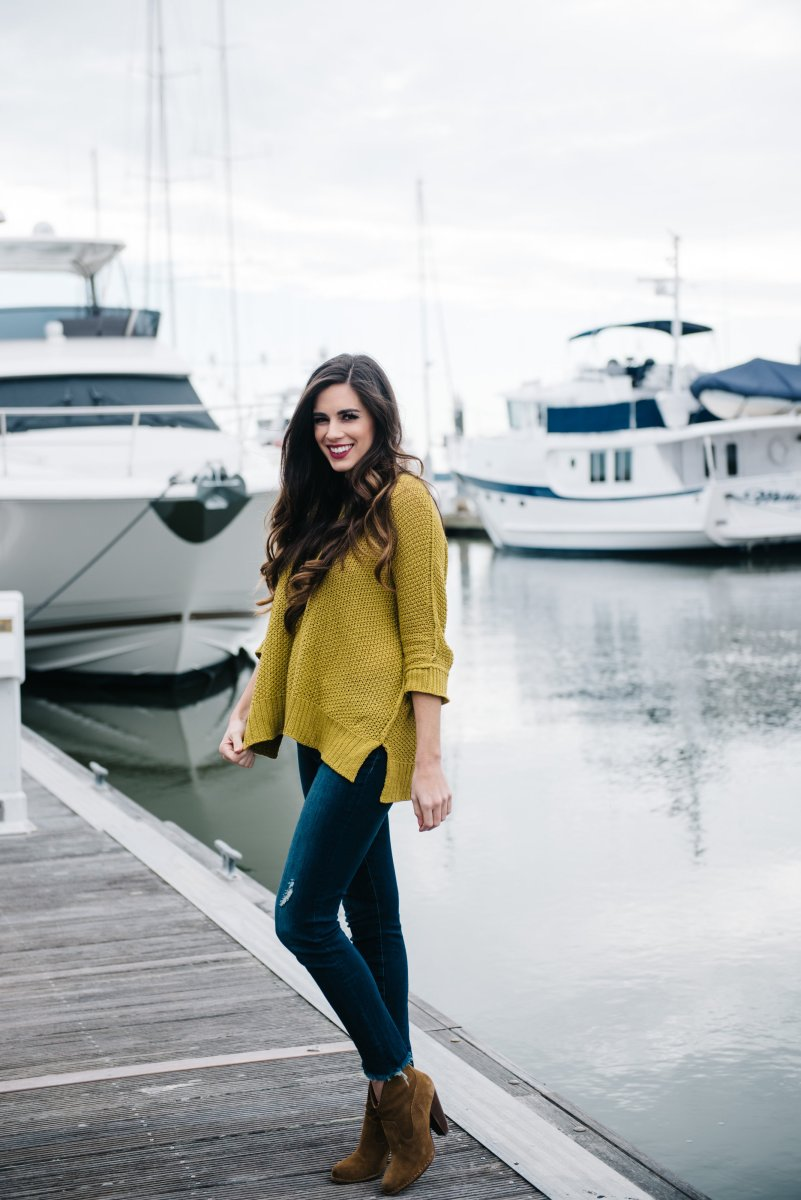Comfy Casual OOTD at the Charleston City Marina