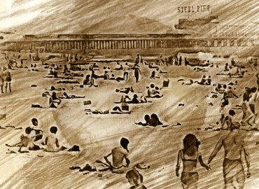 Atlantic City Steel Pier in the 60s