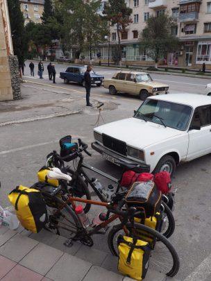 bikes resting