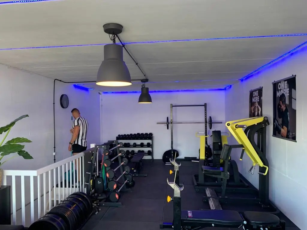 personal training studio klaar