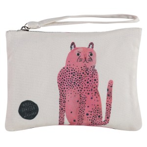pink panther clutch voorkant