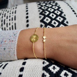 flying high armband goud libelle