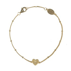 ray of light armband goud hartje