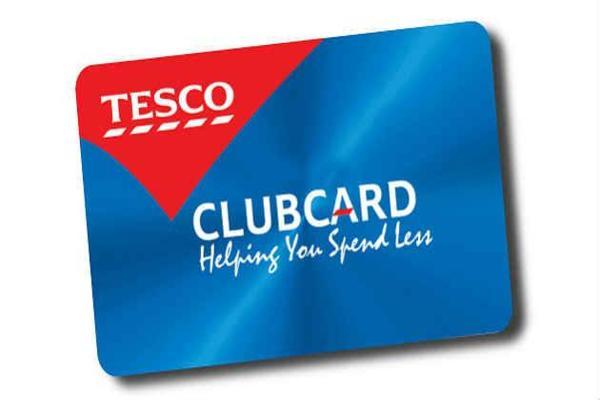 tesco club card