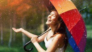 enjoy raining