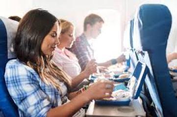 flight dinner