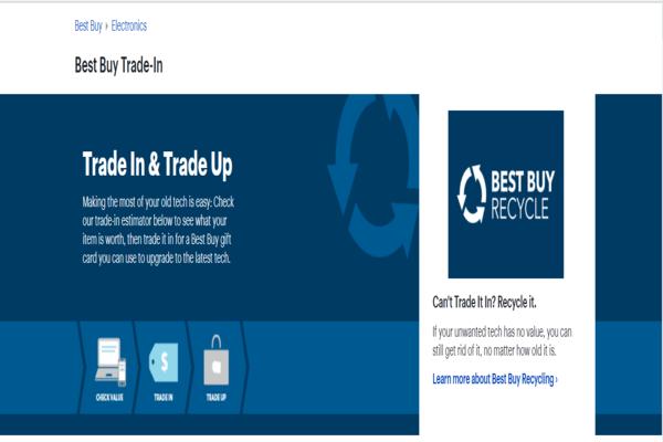 Best Buy Trade-In Program
