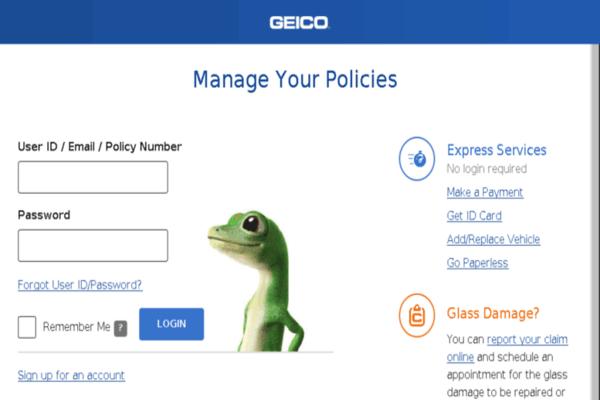 GEICO Policyholder Service Center