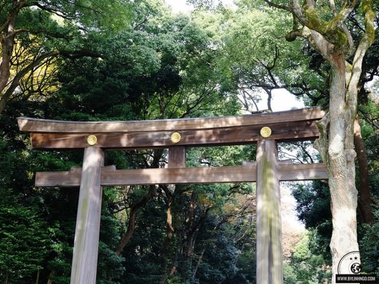 đền thời Meiji jingu
