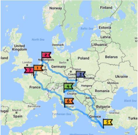 Lịch trình du lịch Châu Âu 14 ngày