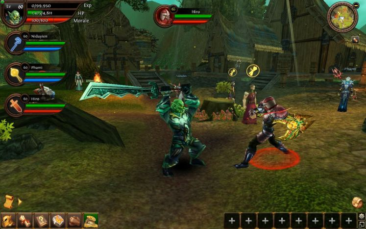 Order and Chaos Online 2, WoW en tu movil (Android)