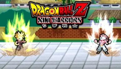 Dragon Ball Z Mini Warriors juegos de DBZ de pocos requisitos - Dragon Ball Z Mini Warriors, juegos de DBZ de pocos requisitos