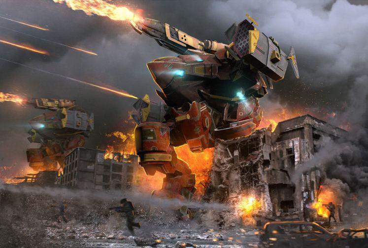 WAR ROBOTS SHOOTER FREE TO PLAY 1024x692 - WAR ROBOTS (SHOOTER FREE TO PLAY)