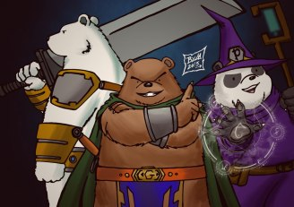 We Bare Bears - Fantasy Edition
