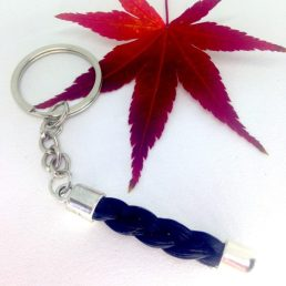 Porte clef en crin Show Girl simple