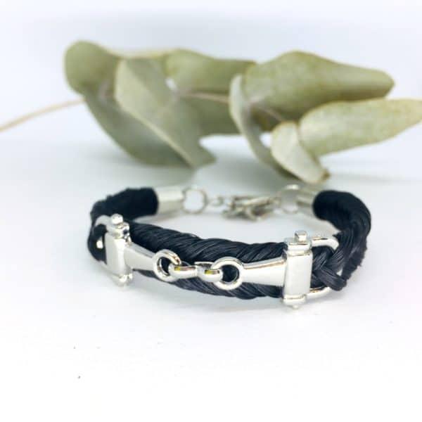 Bracelet en crins