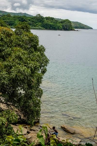 Nkhata bay: playing and fishing