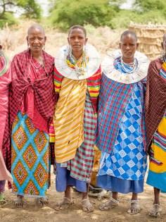 Beautiful Masaai women