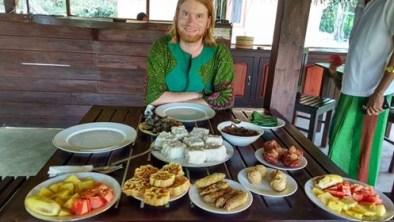 Sinhalese new year breakfast