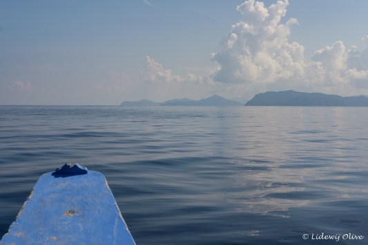 The 'road' from Cacnipa Island to El Nido