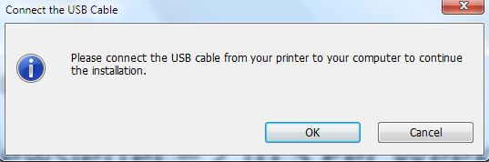 connect USB - How to install Hp Wireless printer in Windows 10