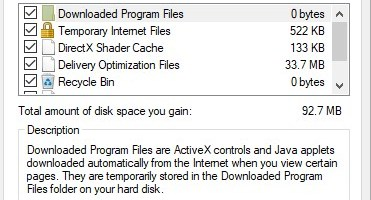 Low disk space Disk Cleanup - Cleanup System Files