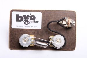 Les Paul Junior Prewired Harness  Guitar bodies and kits from BYOGuitar