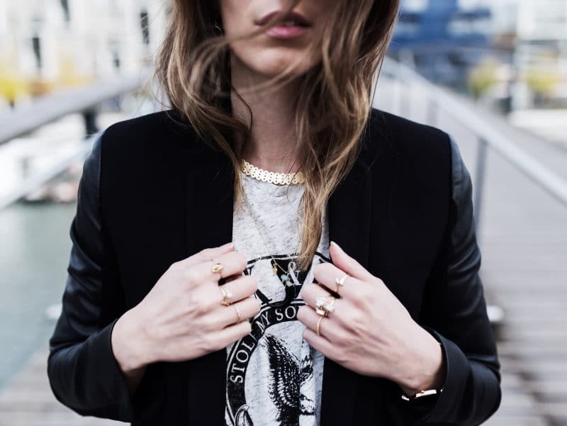 jupe rock blazer