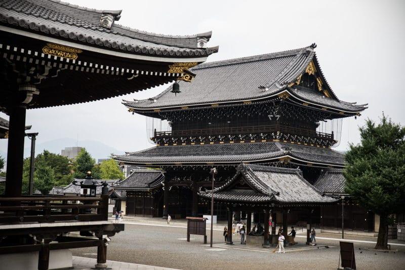 préparer son voyage au Japon temple kyoto