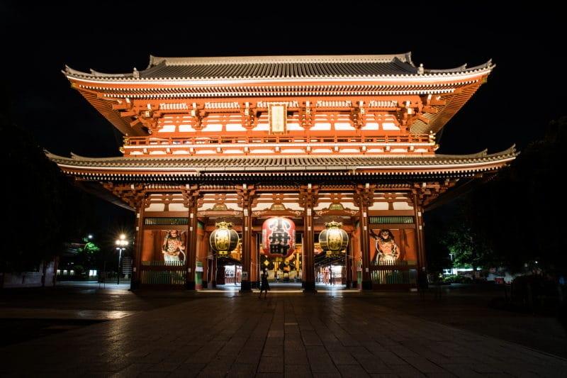 préparer son voyage au Japon asakusa