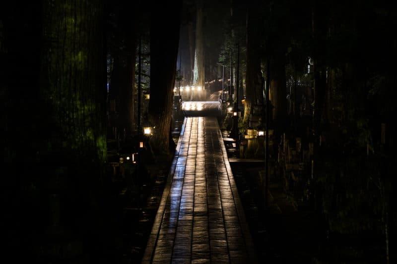 préparer son voyage au Japon cimetière Koyasan