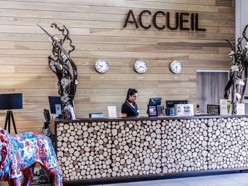 Hotel Golden Tulip Lyon blog By Opaline acceuil