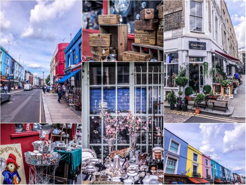 City guide Londres blog voyage By Opaline Portobello Road