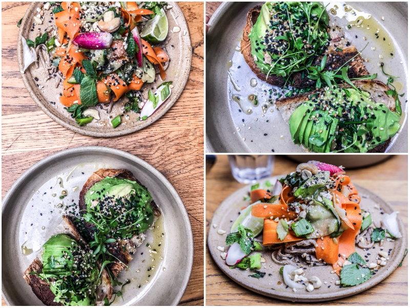 Londres végétarien bonnes adresses blog voyage By Opaline 26 grains
