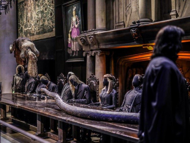 Studios Harry Potter Londres manoir des Malfoy