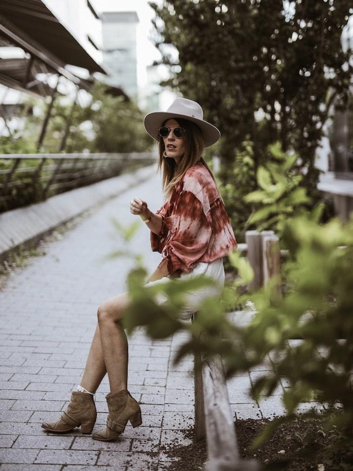 Look femme printemps été 2019 tenue Mango blog mode Lyon France By Opaline