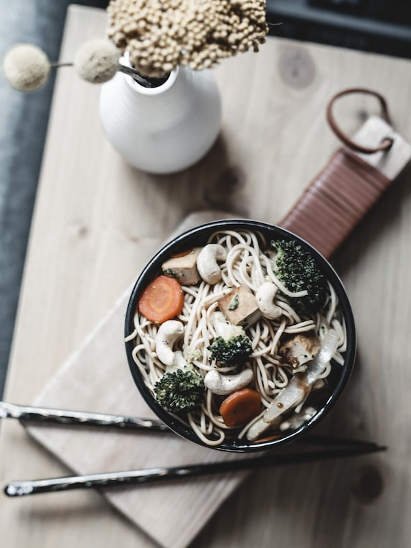 Recette wok végétarien vegan