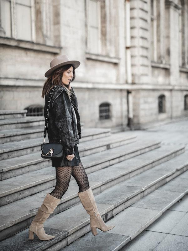 Inspiration mode look femme 2020 fashion veste à épaules structurées