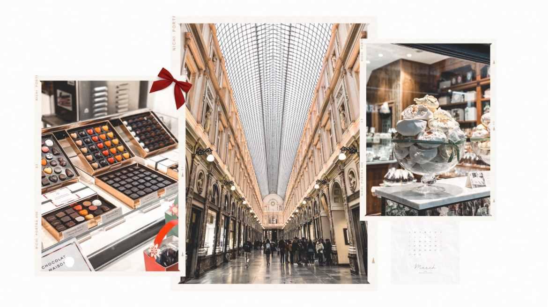 Voyage week end Bruxelles Galeries Royales Saint Hubert