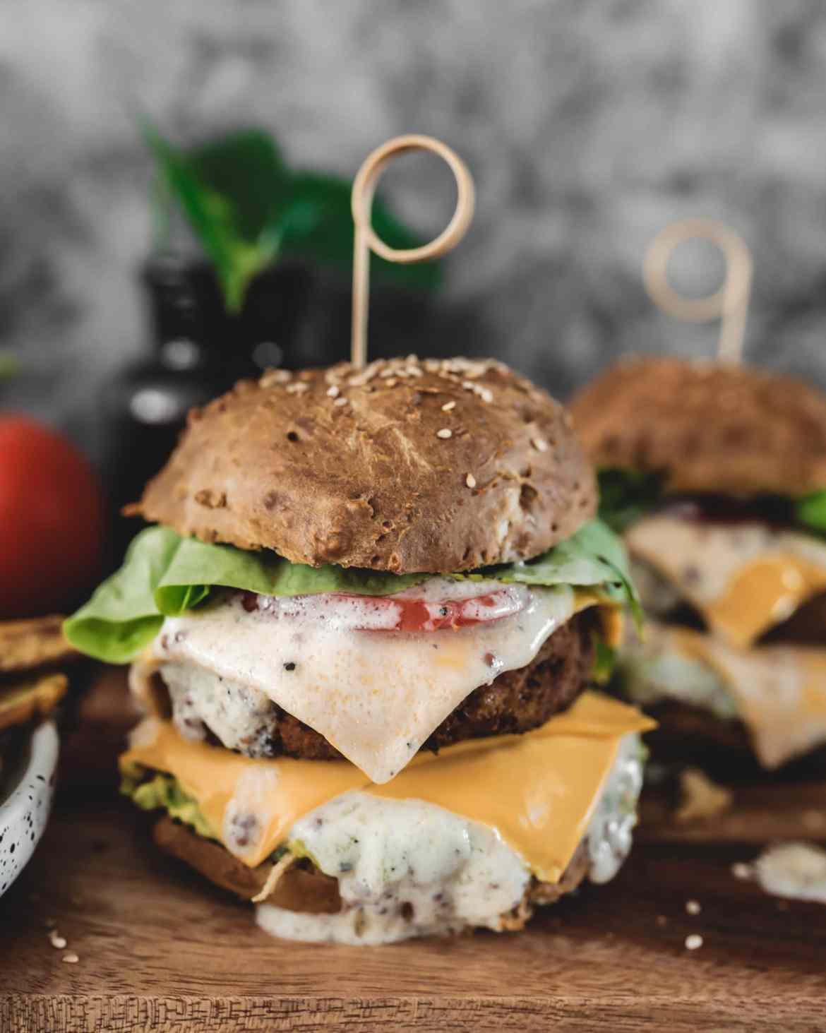 Recette burger veggie
