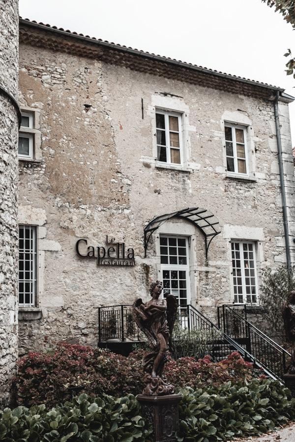 Un séjour ou un week-end au Château de Chapeau Cornu vers Lyon - Le restaurant gastronomique Le Capella