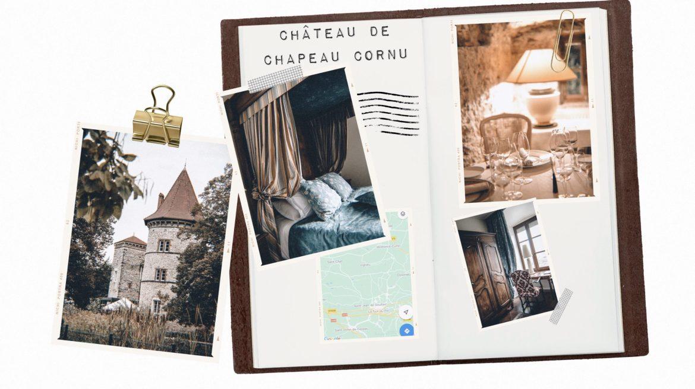 Un séjour ou un week-end au Château de Chapeau Cornu vers Lyon